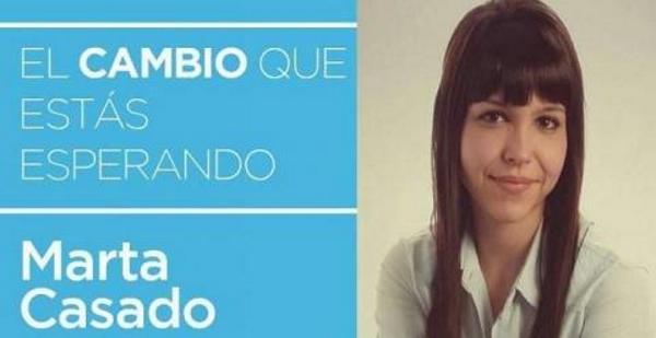 Marta Casado Gracia es la racista candidata del Partido Popular de Camacho en Arbós, Cataluña