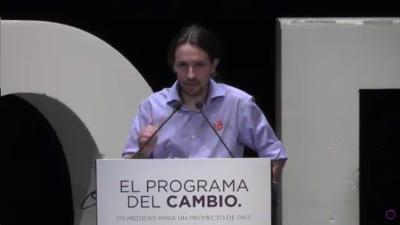 Podemos presenta su 'Programa Del Cambio 215 Medidas Para Un Proyecto De País' - copia