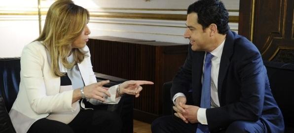 Podemos y Ciudadanos mantienen su no a la investidura de Susana Díaz - copia
