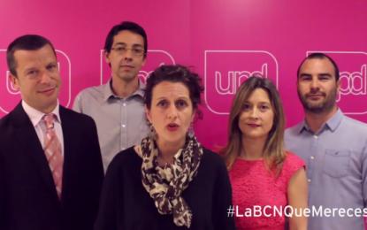 """""""Porque no hemos cambiado de principios por sillones"""", defiende UPyD Barcelona en su vídeo Spot de campaña"""