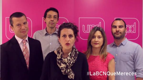 Porque no hemos cambiado de principios por sillones, defiendo UPyD Barcelona en su vídeo Spot de campaña