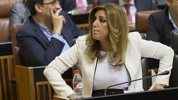 Susana Díaz no supera la investidura en primera votación y habrá una segunda el viernes