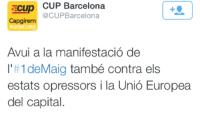 VOX denuncia la quema de bandera española en Barcelona y pide investigar la autoría de la misma,