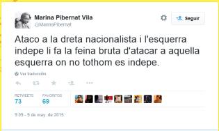 ataco a la dreta nacionalista