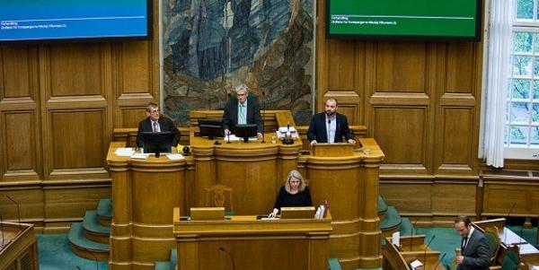 el parlamento danés