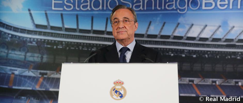florentino Pérez anuncia el relevo de carlo ancelotti