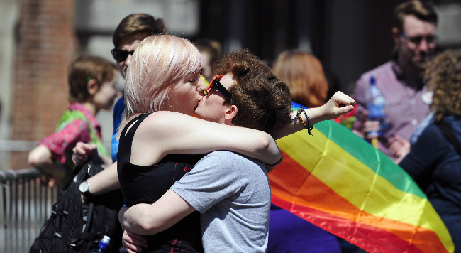 irlanda dice sí mediante referéndum a la unión homosexual