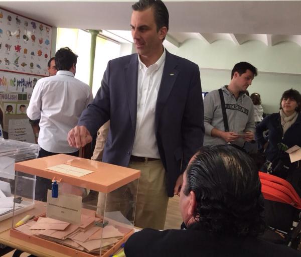vota el candidato de vox ato madrid