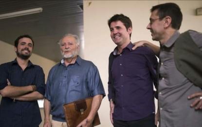 Anguita, Monedero y Garzón abogan por un frente ciudadano ante el bipartidismo