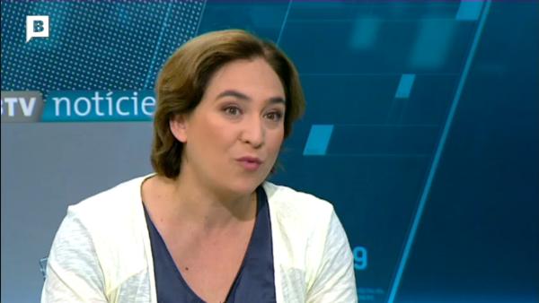 Ada Colau se desmarca del separatismo: «No firmaremos hojas de ruta impropios»