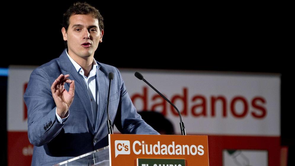 Albert Rivera anuncia su candidatura a las primarias de Ciudadanos