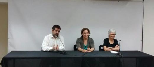 Ada Colau: «Iré» a la manifestación separatista del 11-S «para defender la pluralidad del proceso»
