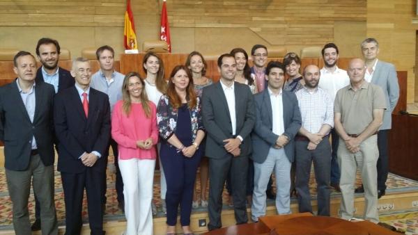 """C's Madrid """"La Asamblea de Madrid tiene que cumplir su labor de control al ejecutivo"""
