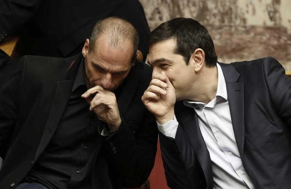 Bajada de pantalones de la Troika y victoria de Grecia, Alexi Tsipras