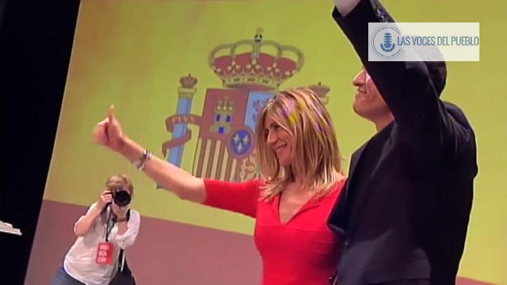 Nuevos tiempos, el PSOE elige a un patriota con bandera de la Patria de todos: Pedro Sánchez Pérez-Castejón