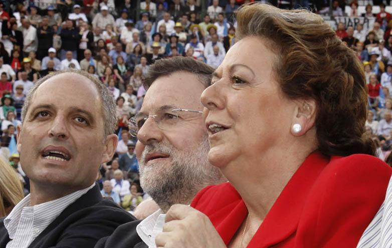 Adiós Rita Barberá del PP, El PSOE da su apoyo a Compromís para la investidura en la alcaldía