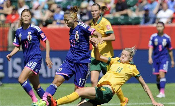 Iwabuchi guía a Japón hacia las semifinales con un gol en el minuto 87