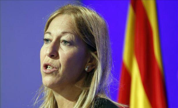 Nues Munté, la separatista catalana de CDC