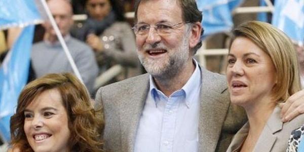 Rajoy ya tiene lista la guillotina antidemocrática del PP para acabar con Antón y De Cospedal, y nombrar a dedo a Casado y Alons