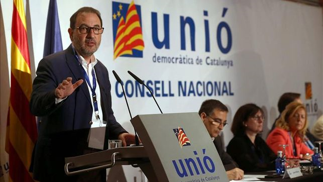 Espadaler, dispuesto a encabezar la lista de UDC para las catalanas del 27S