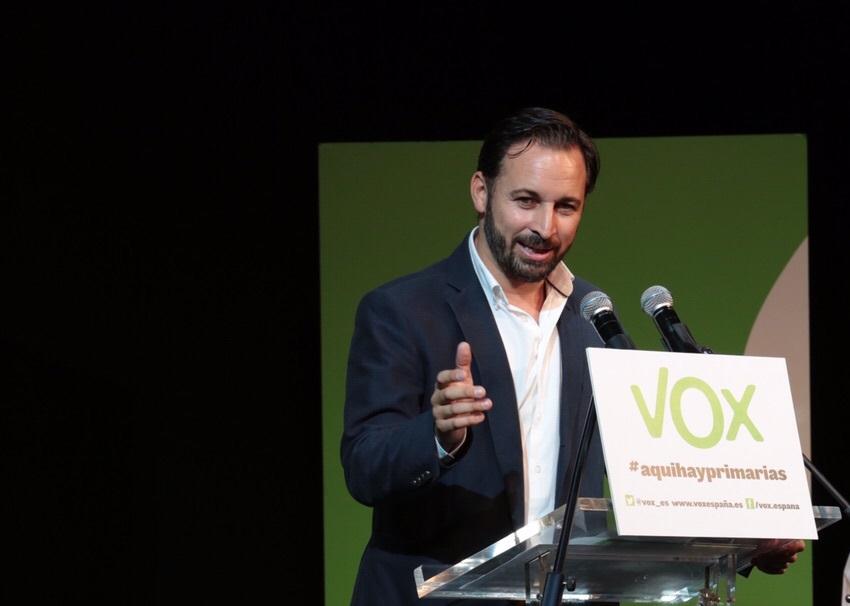 Santiago Abascal, nuevo candidato de VOX a la presidencia de España