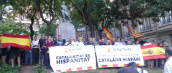 Somatemps pide recuperar la calle en Cataluña para impedir la «batasunización» separatista, en 'El Tambor del Bruch'