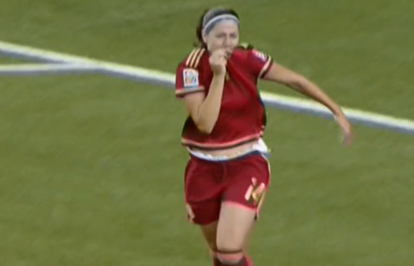 Vicky Losada hace historia con su gol ante Costa Rica