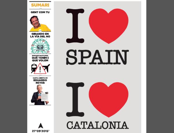Cuidado, «Amo a España y Amo a Cataluña»: nueva estrategia envenenada separatista de ANC