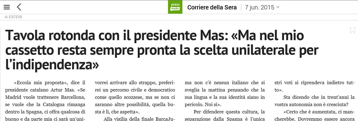 diario italiano