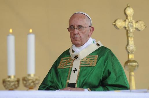 el papa pide decir no a la corrupción politica del PP, PSOe, CIU, CDc, etc