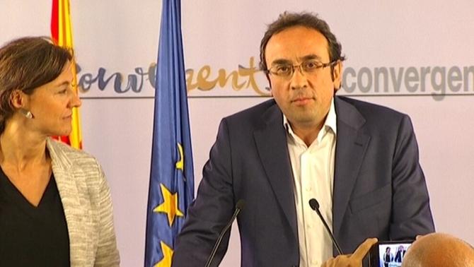 extremista Josep Rull de CDC