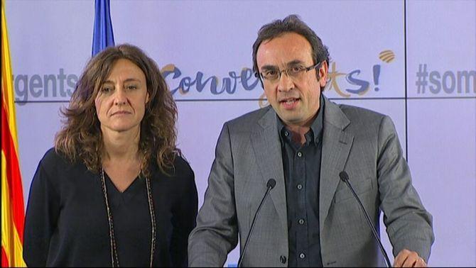"""Josep Rull: """"El proyecto político de la Federación de Convergencia y Unión (CIU) se ha acabado"""""""