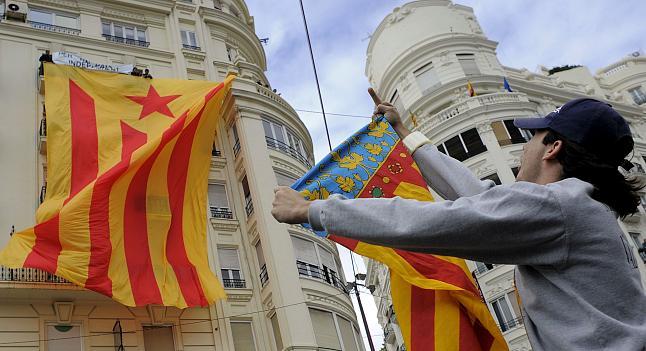 imposición del separatismo excluyente en la comunidad valenciana