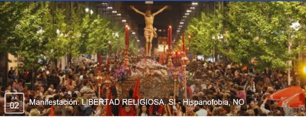 libertad religiosa, sí, hispanofobia, no