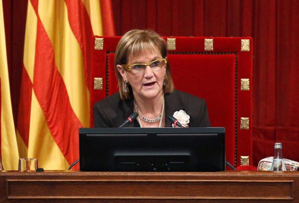 UDC expulsa la presidenta del Parlamento catalán, Núria de Gispert Català, por ser separatista excluyente