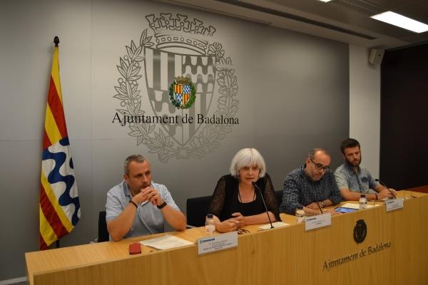 nuevo gobierno municipal de Badalona encabezado por Dolors Sabater
