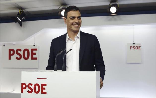 El Comité Federal del PSOE respalda la candidatura de Pedro Sánchez Pérez-Castejón a las generales
