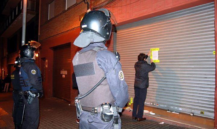 unidad especial de actuación de la Guardia Urbana de Xavier Albiol