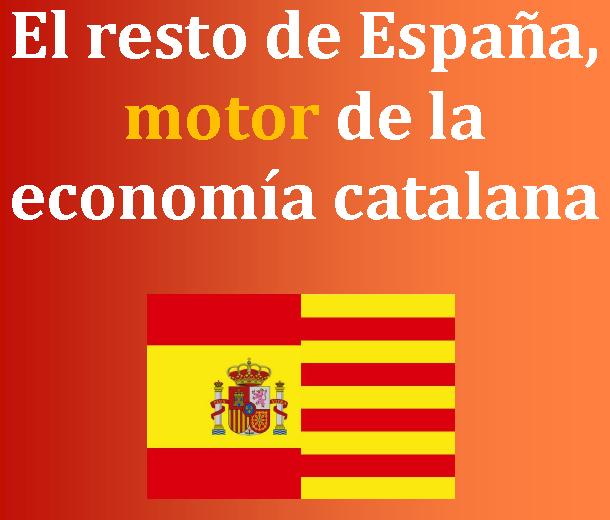 «El resto de España, motor de la economía catalana»; (CCC) destaca que 13 de la producción en Cataluña se vende en el resto de España - copia