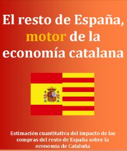 «El resto de España, motor de la economía catalana»; (CCC) destaca que 13 de la producción en Cataluña se vende en el resto de España
