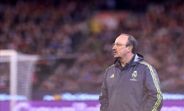 El entrenador del Real Madrid, Rafa Benitez. EFE