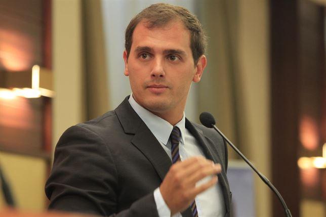 El presidente de Ciudadanos (`'s), Albert Rivera. Foto archivoEP