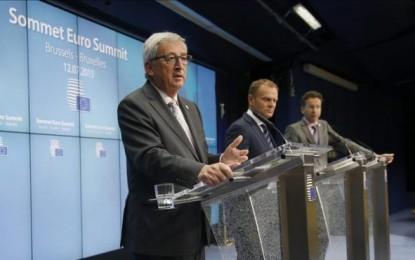 La eurozona sortea el abismo de la salida griega del euro con acuerdo unánime