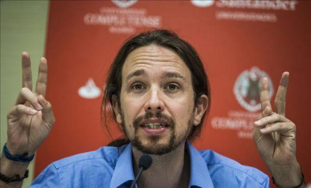El secretario general de Podemos, Pablo Iglesias. EFEArchivo