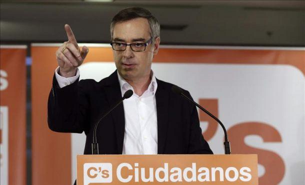 Ciudadanos (C's) advierte de que no llegará a acuerdos con el PSOE a cualquier precio