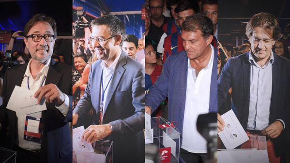 En directo Campo Nuevo Urnas abiertas en el Campo Nuevo para elegir el nuevo presidente separatista de FC Barcelona