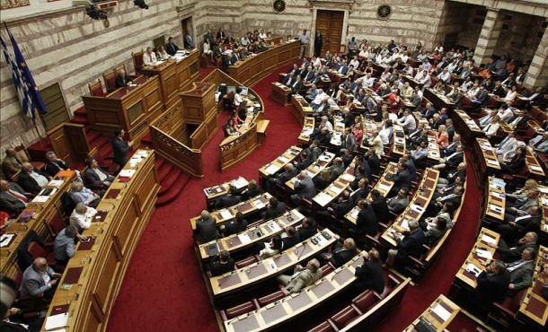 Fotografía El primer ministro griego, Alexis Tsipras, en la sede del Parlamento, en Atenas, el pasado miércoles. FotoEfe