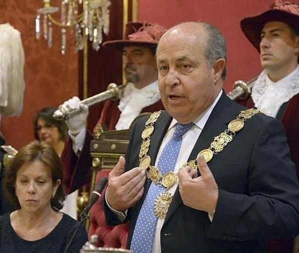 José Torres Hurtado, alcalde de Granada  EFE