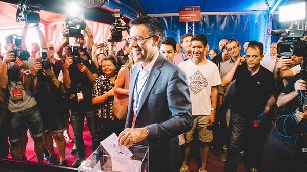 Josep Maria Bartomeu será el nuevo presidente FC Barcelona, según sondeo al pie de urna habría obtenido un 49,5por ciento