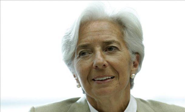 La directora gerente del Fondo Monetario Internacional (FMI), Christine Lagarde. EFEArchivo